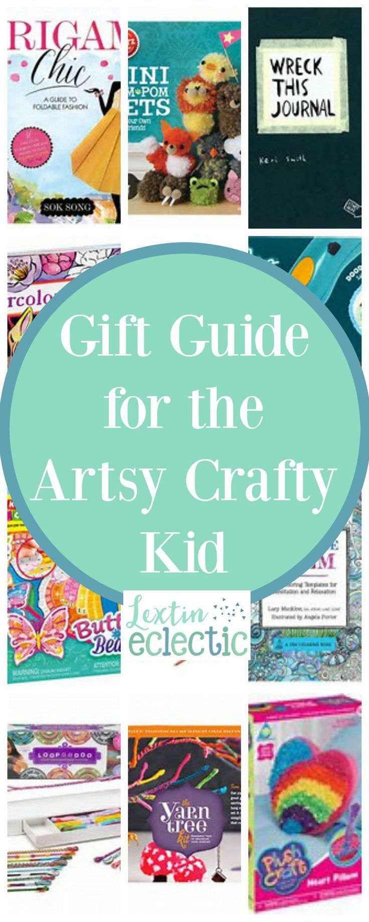 Gift Ideas For The Artsy Crafty Kid Crafty Kids Christmas Art