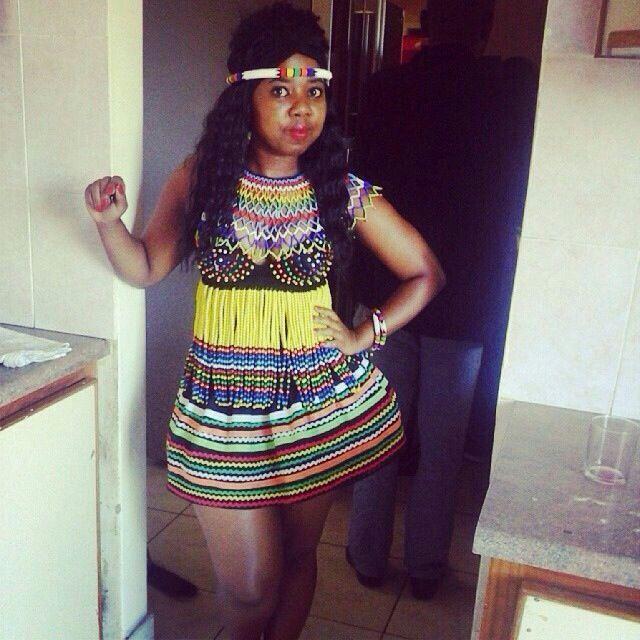 Getting ready for #isigcawu#memulovibes by @zandisokuhle traditional hire