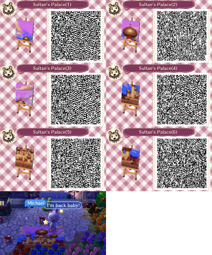 2141 best animal crossing images on pinterest for Crossing the shallows tile mural