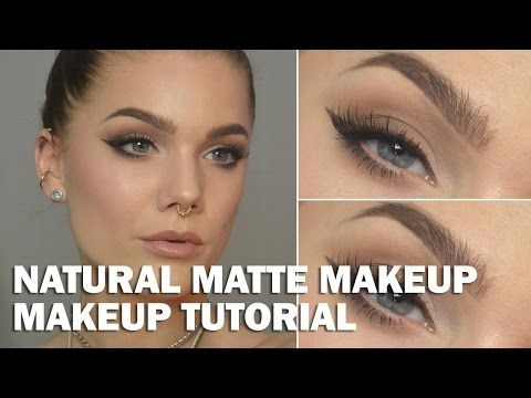 Videotutorial – Natural matte makeup