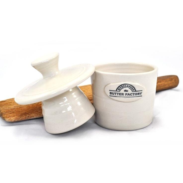 Myrtleford Butter Factory - Butter Crock, $28.00 (http://www.thebutterfactory.com.au/butter-crock/)
