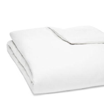 Oake Linen White Duvet Cover, King | Bloomingdale's