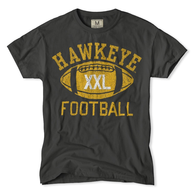 Iowa Hawkeyes Football T-Shirt