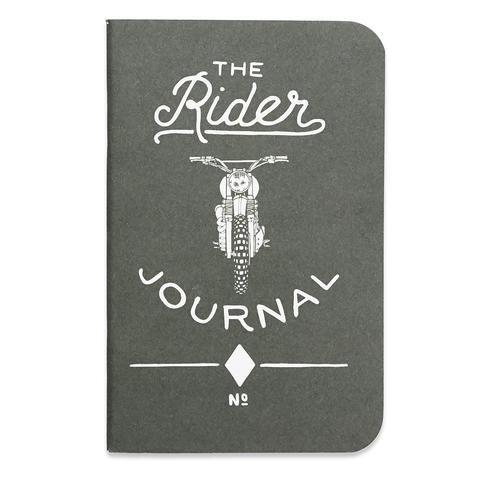 Word Notebooks THE RIDER JOURNAL Notizhefte 3er-Set schwarz / WILDHOOD