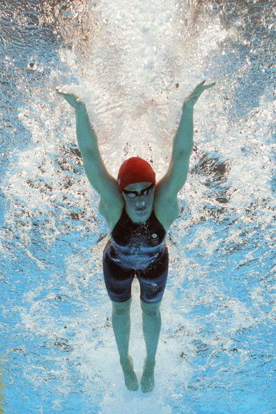 Hannah Miley of Great Britain swims butterfly as she competes in heat four of the Women's 400m Individual Medley on Day One of the London 2012 Olympic Games at the Aquatics Centre on July 28, 2012 in London, England.