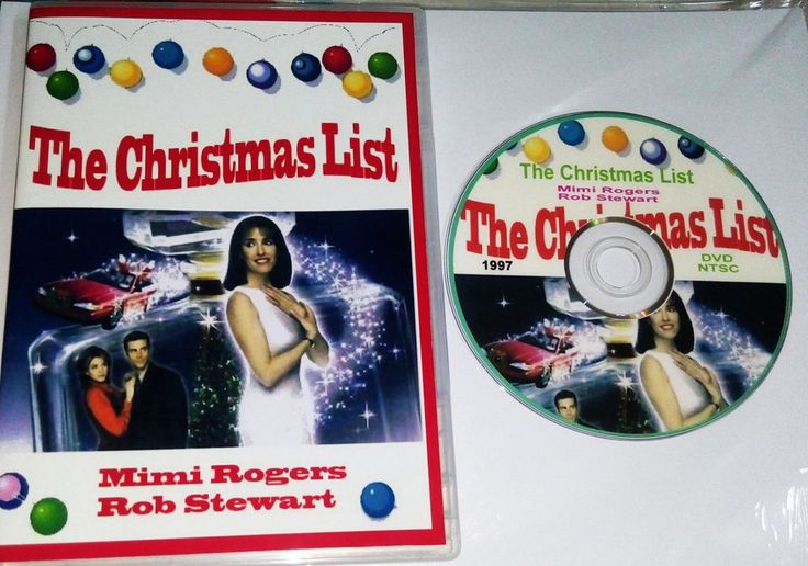 The Christmas List (1997) DVD Mimi Rogers Rob Stewart All Regions FREE SHIPPING | DVDs & Movies, DVDs & Blu-ray Discs | eBay!