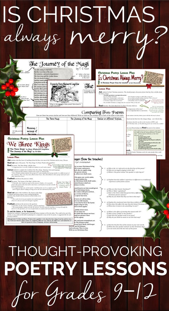283 best general english teaching resources images on pinterest christmas poetry analyzing some different christmas poems robcynllc Choice Image