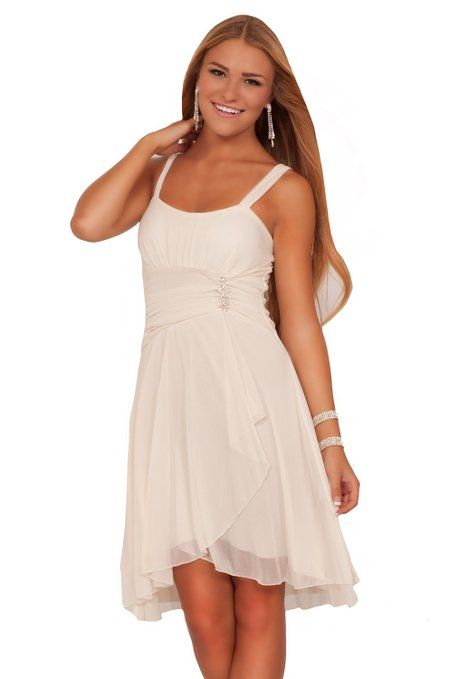Junior Sleeveless Sweetheart Sequins Layered Sheer Evening Party