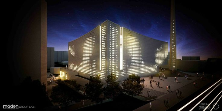 Central Mosque of Pristina Competition Entry / Maden GROUP