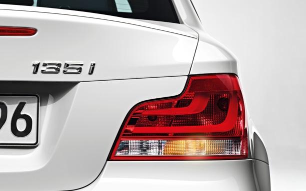 BMW 1 Series Coupé taillight