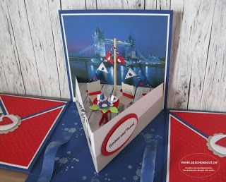 Thames cruise gift box surprise box explosion box river wedding voucher