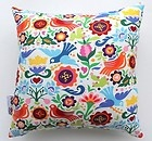 """NEW LA PALOMA MEXICAN FOLK ART GIRLS SCATTER CUSHION COVER DECORATIVE PILLOW 14"""""""