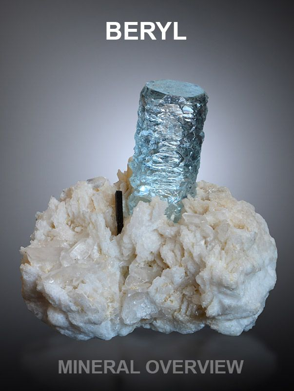 Detailed overview about beryl and its varietes, including lot of great specimen photos. http://www.mineralexpert.org/beryl-mineral-gemstone-overview