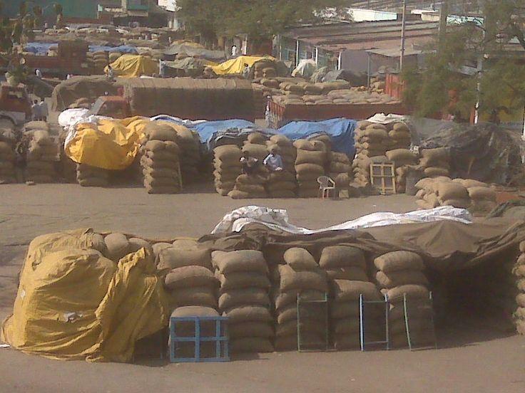 Gulbarga wholesale grain market