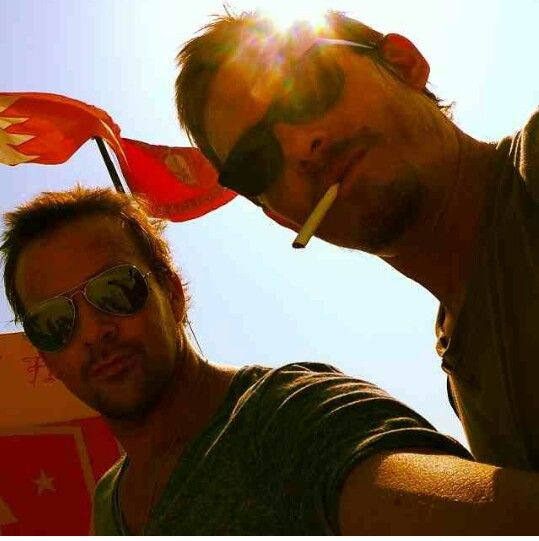 Norman and Sean
