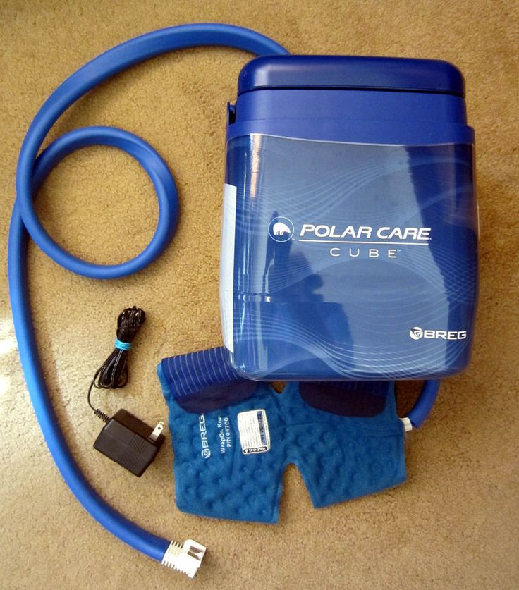 Breg Polar Care Cube Cold Therapy System Knee / Multi Wrap