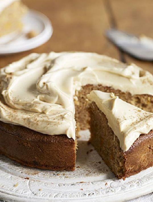 Gâteau à la carotte & son glaçage gourmand (sans gluten & lactose, et pauvre en fodmaps) : parfait pour les petits ventres sensibles (colopathie fonctionnelle)