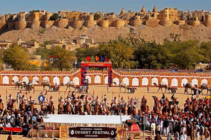 Desert Festival In Jaisalmer (India)