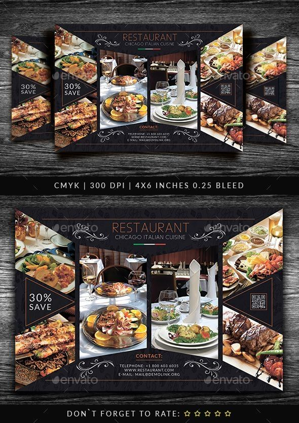 Food  Drink Flyer Template #FoodFlyer #Flyer Food  Drink Flyer