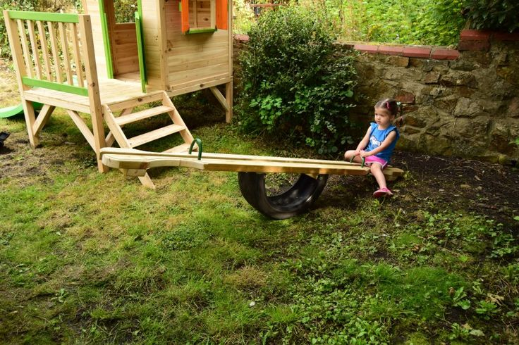 Making a seesaw in just a few easy steps - Anklebiters Adventures