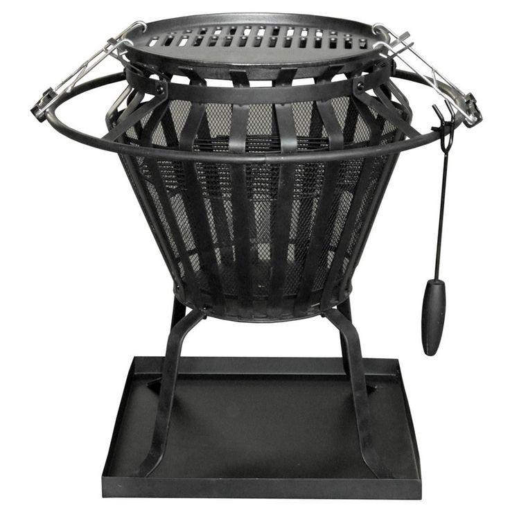 Jumbuck Brazier / BBQ Fire Pit Combo
