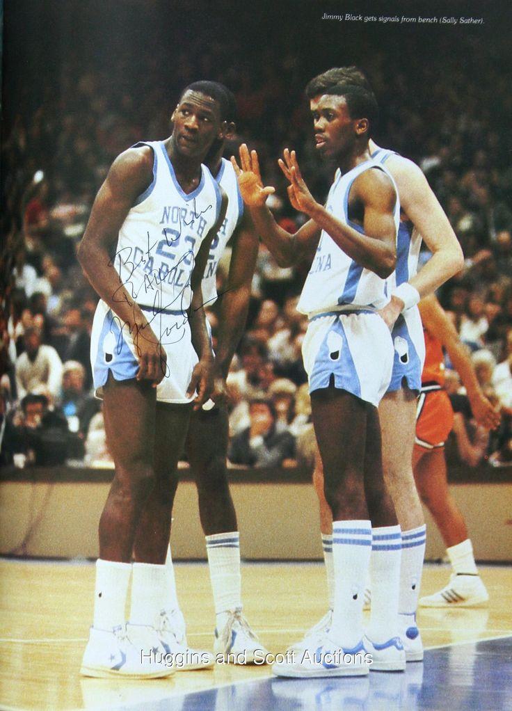 Michael Jordan & Jimmy Black