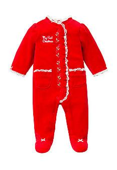 Baby Girl Pajamas My First Christmas And Girls Pajamas On