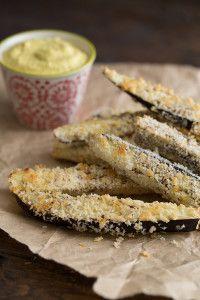 Crispy Panko-Crusted Baked Eggplant Fries with... - Vegetarian & Vegan Recipes  http://veggiefocus.com