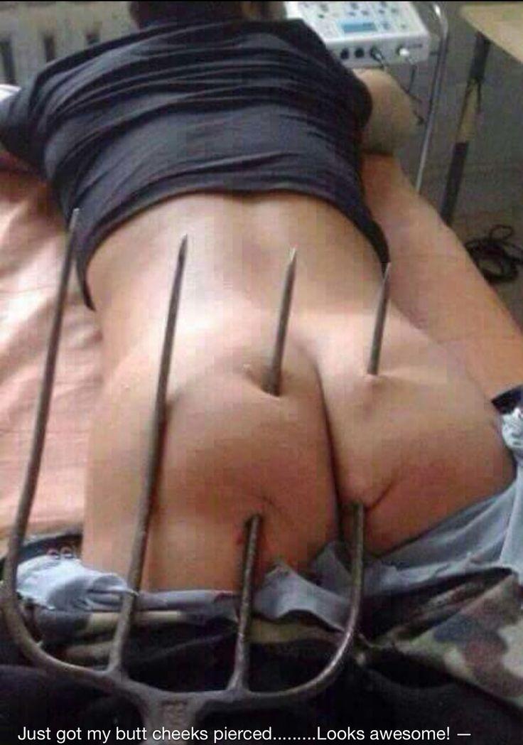 Ass bizarre hole