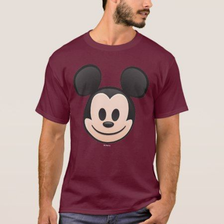 Mickey Mouse Emoji T-Shirt - tap, personalize, buy right now!