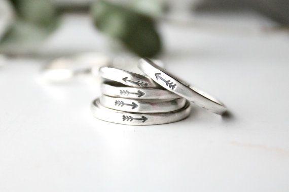 Pijl Ring / Sterling zilveren pijl Ring / volg je pijlen / gestempeld pijl / Boheemse pijl Ring / inheemse pijl Ring / pijl sieraden