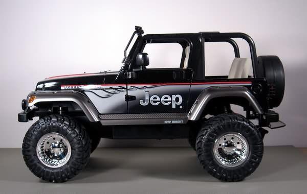 New Bright Jeep Wrangler Rubicon