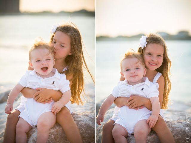 brother and sister photo shoot   orange beach, alabama   family of four photo shoot