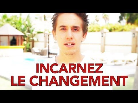Comment incarner le changement en 5 points - Le message de Gandhi partagé par David Laroche - YouTube