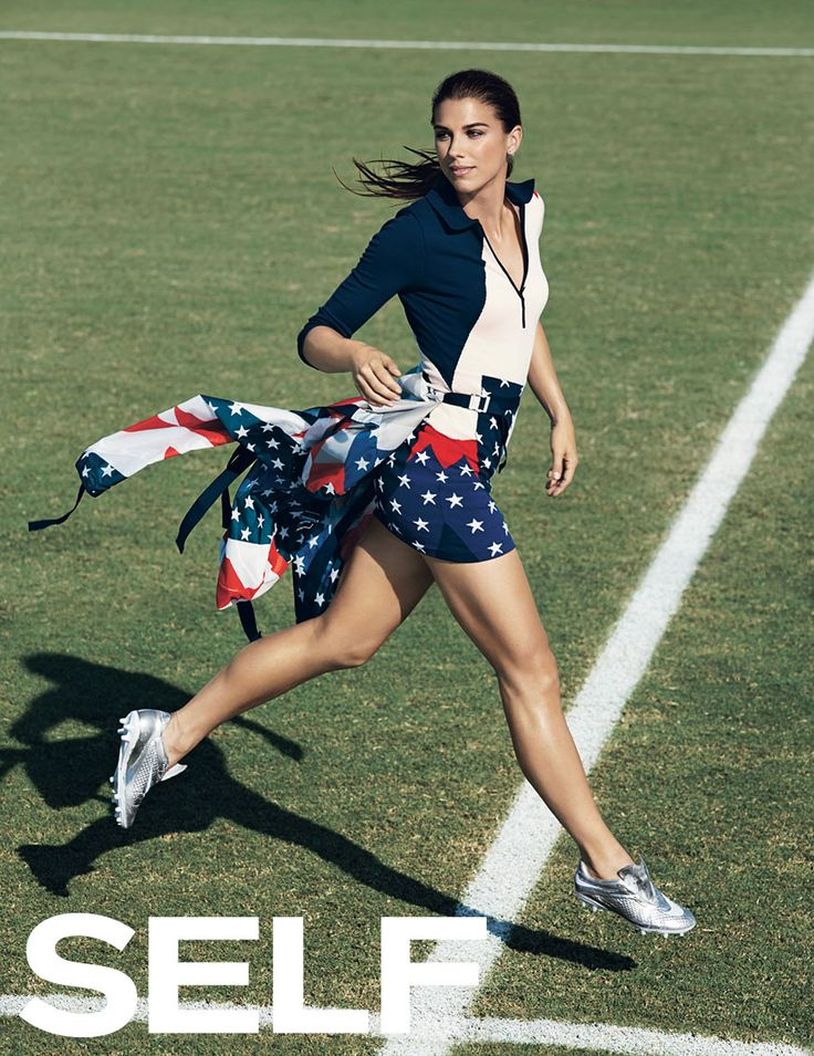 """""""Giving up on something hard is never going to make you stronger."""" - Alex Morgan"""
