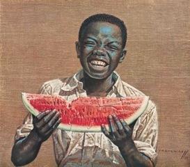 "Tretchikoff - ""Watermelon Boy"" Vladimir Tretchikoff."