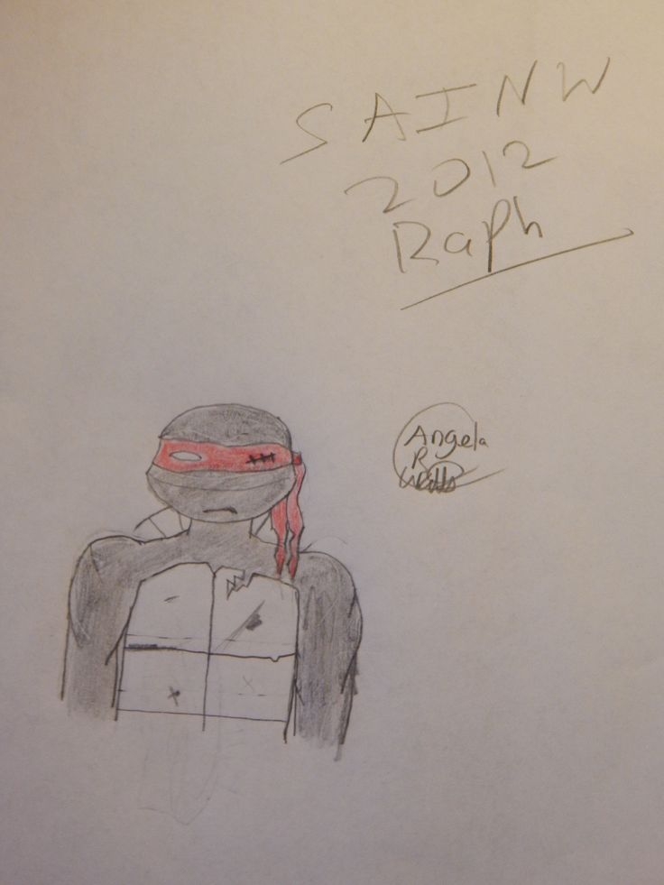 SAINW 2012 Raphael by Angela R. Watts. I cannot get enough of 2012 SAINW Raph... Hope ya'll like it.