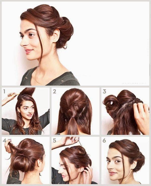 Coiffure Facile Et Chic Soiree Nouvel An Coiffure Facile Tutoriels Coiffure Modeles De Cheveux