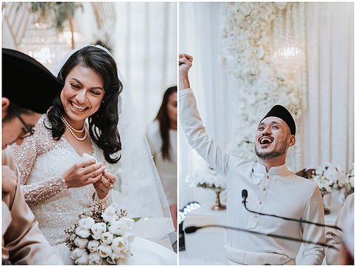 Safia & Ivan's Day | An Intimate Akad Nikah Ceremony in