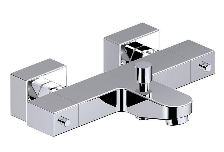 Grifo termostático para bañera-ducha modelo OSMOS CROMO