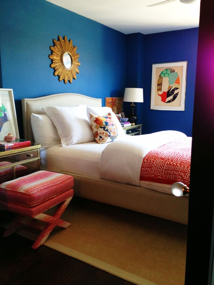 Paint Colors That Match This Apartment Therapy Photo SW 6811 Honorable Blue 6258
