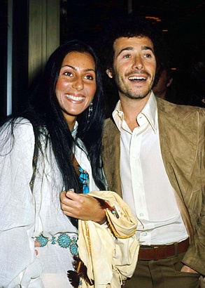 Cher and David Geffen in 1974  So cute. The story of this man is amazing.