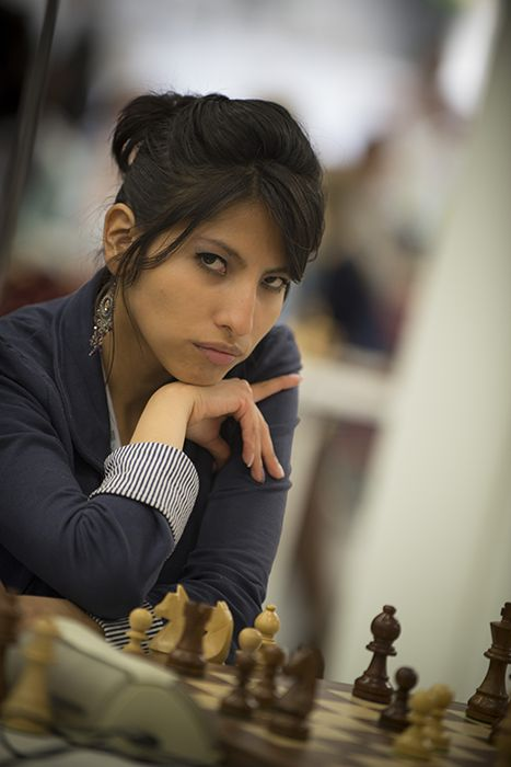 Maria Eugenia Ramirez, from Bolivia (by @lladini) #ChessOlympiad pic.twitter.com/eGN08xT83x