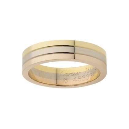 rings anneaux bandes de mariage cartier un jour de mariage mariage ...