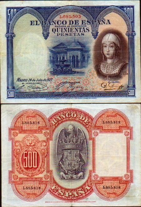 España dinero | Galería de divisas: España