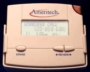Remember the days when Caller ID had to have its own separate display box?!