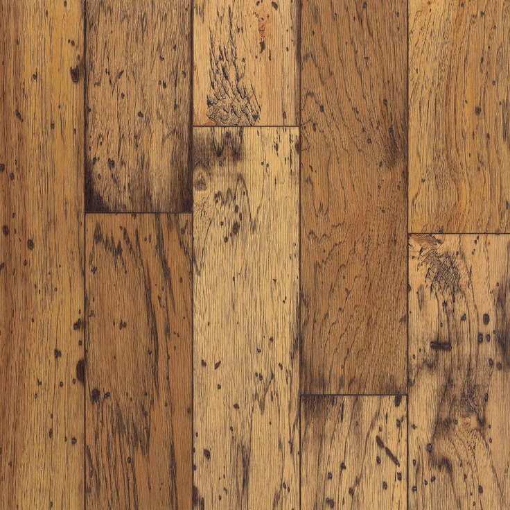 bruce clifton exotics antique natural hickory in wide x random length engineered hardwood floor 28 at the home depot - Hickory Wood Floors