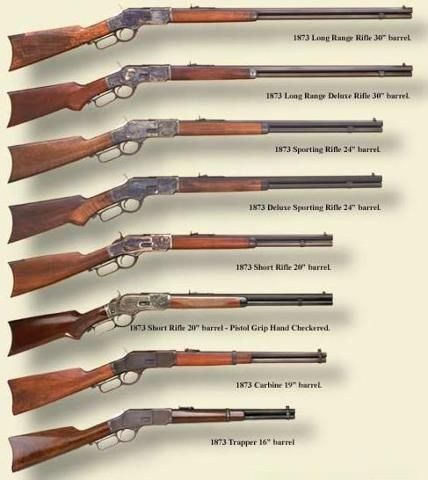 1873 winchester rifle chart: I saw Winchester and thought, Oh look, Dean and Sam's guns! *facepalm*