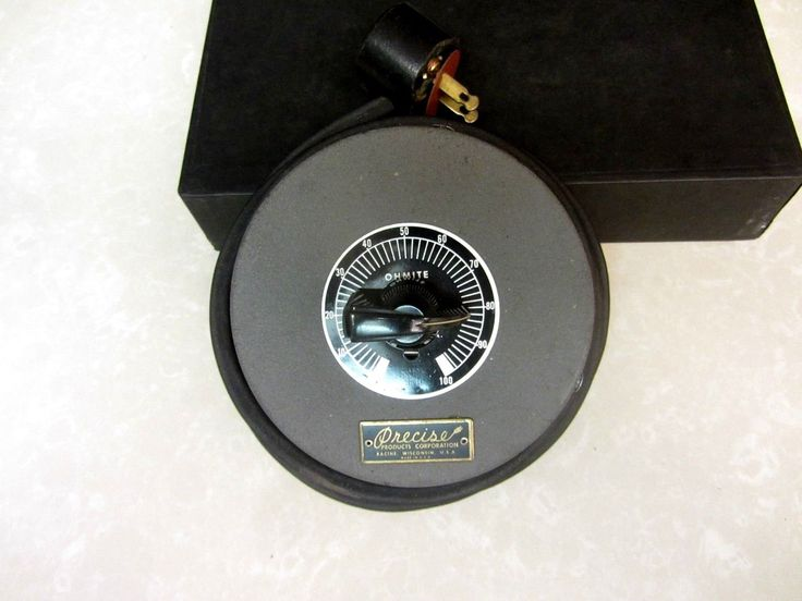 Vintage Ohmite Precise Products Corp. Racine WI Variable Transformer Variac - $16.50 - 16.50