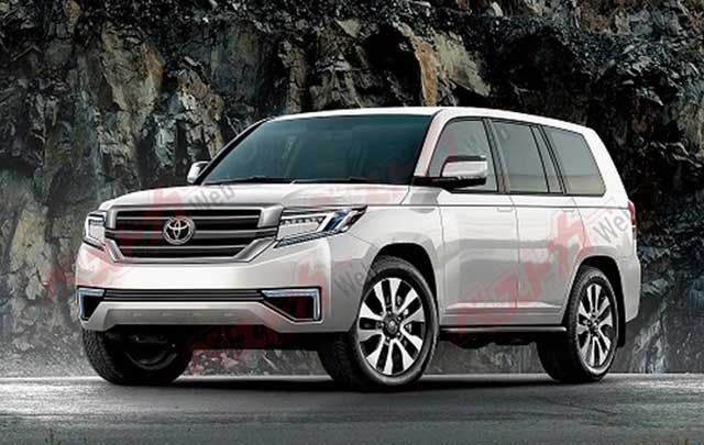 2020 Toyota Land Cruiser spy photos new | Concept Cars ...
